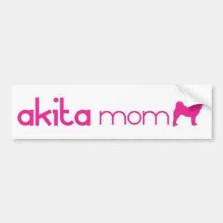 Akita Mom Bumper Sticker