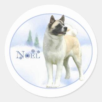 Akita Noel - Sticker