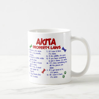 AKITA Property Laws 2 Coffee Mug