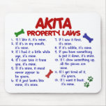 AKITA Property Laws 2 Mousemats