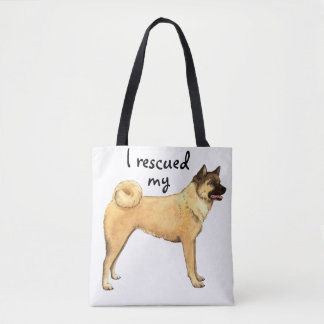 Akita Rescue Tote Bag