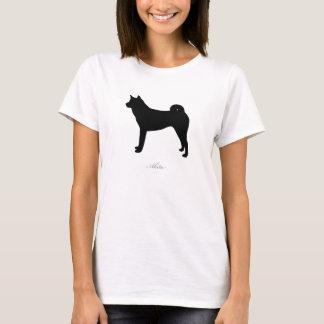 Akita T-shirt (black silhouette)