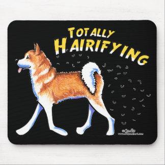 Akita Totally Hairifying Mouse Pad