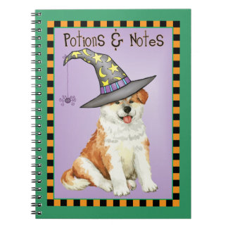 Akita Witch Notebooks