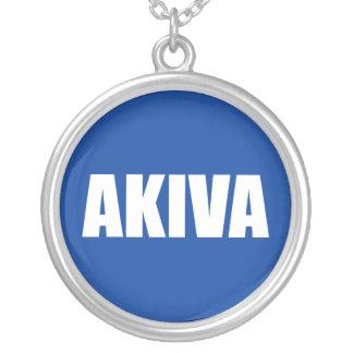 Akiva Round Pendant Necklace