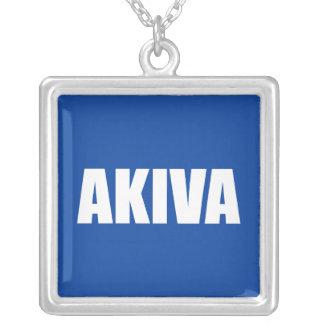 Akiva Square Pendant Necklace