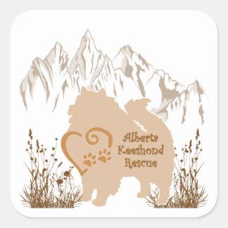 AKR Logo - Gold - Stickers