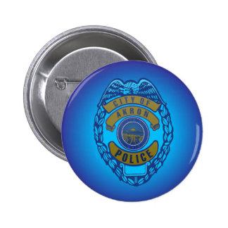 Akron Ohio Police Department Button