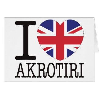 Akrotiri Love v2 Greeting Card