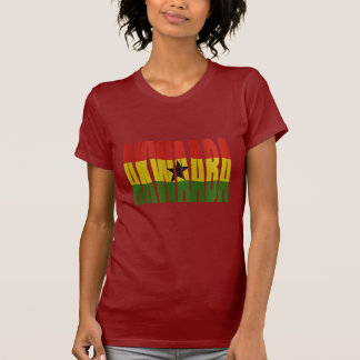 Akwaaba - You're Welcome - Twi + Ghana Flag T-Shirt