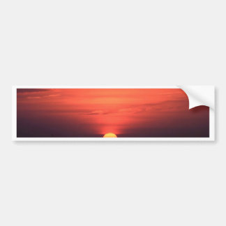 Akyaka Sunset Bumper Sticker