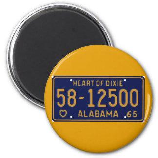 AL65 6 CM ROUND MAGNET