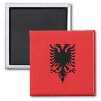 AL - Albania  - Flag Magnet
