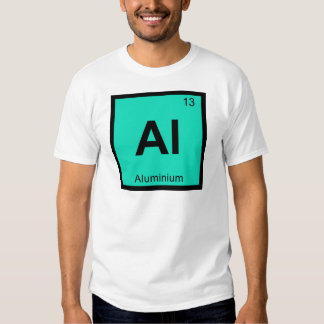 Al - Aluminium Chemistry Periodic Table Symbol Shirts