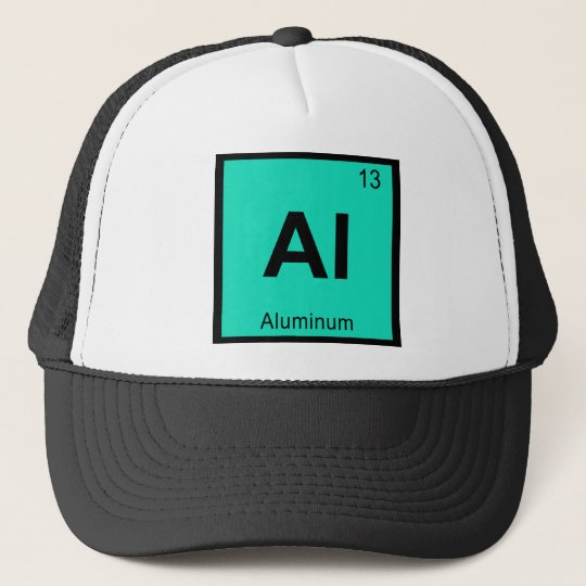 Al - Aluminium Chemistry Periodic Table Symbol Trucker