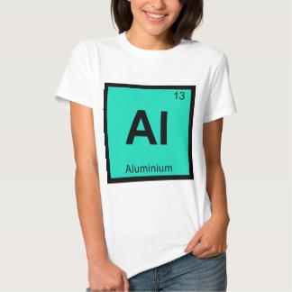 Al - Aluminium Chemistry Periodic Table Symbol Tshirts