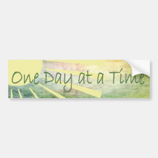Al-anon - One Day At A Time Bumper Sticker
