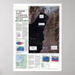 Al' Aqabah Jordan Map 1993 Poster