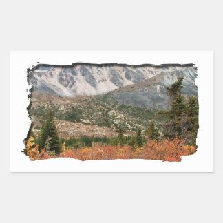 AL Autumn Layers Rectangular Sticker