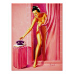 Al Buell Vintage Pin Up Girls (Poster) Poster