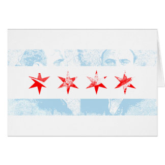 Al Capone Chicago Flag Card
