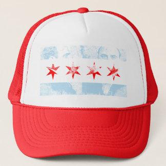 Al Capone Chicago Flag Trucker Hat
