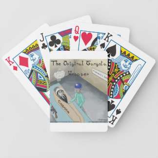 Al Capone Funeral Funny Bicycle Playing Cards