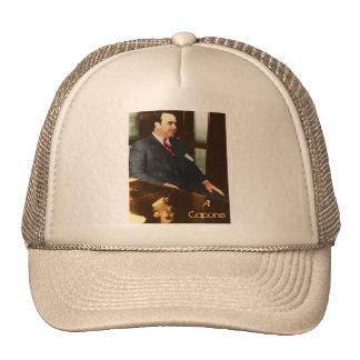 Al Capone - the real Scar Face Trucker Hats