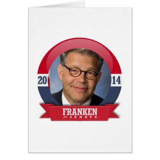 AL FRANKEN CAMPAIGN GREETING CARD