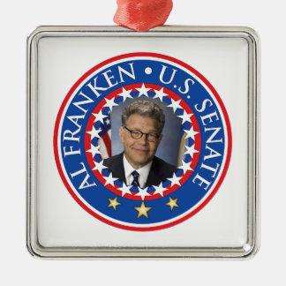 Al Franken U.S. Senate Christmas Ornament