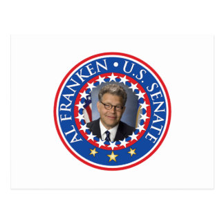 Al Franken U.S. Senate Post Card