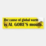 Al Gore Bumper Sticker 1
