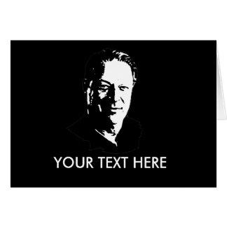 Al Gore Gear Greeting Card
