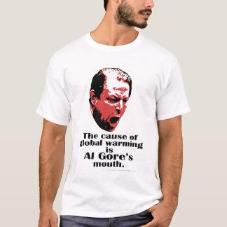 Al Gore Global Warming Black T-Shirt