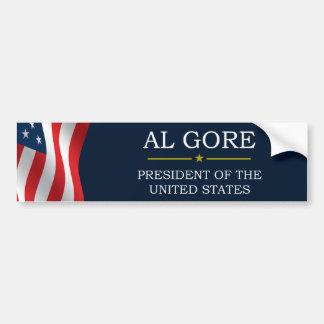 Al Gore President V3 Bumper Stickers