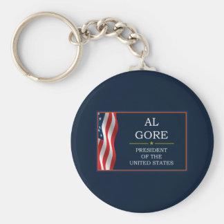Al Gore President V3 Keychain