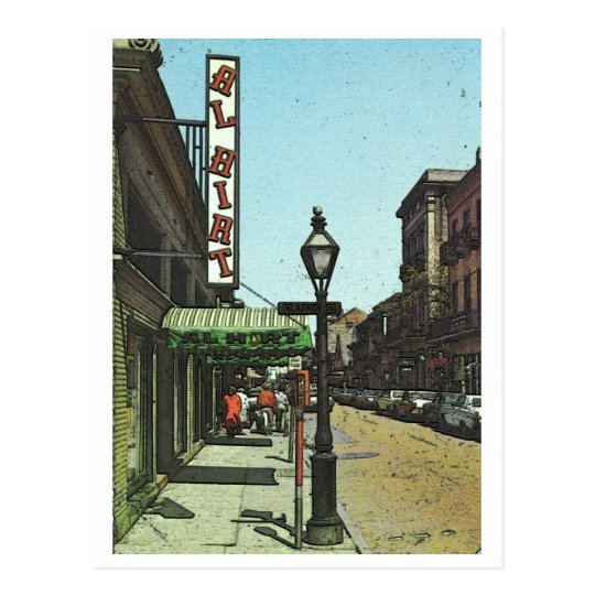 Al Hirts Jazz Club Postcard