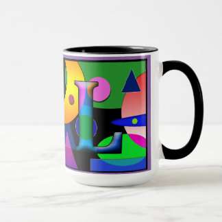 """AL"" monogram coffee mug 15 oz"