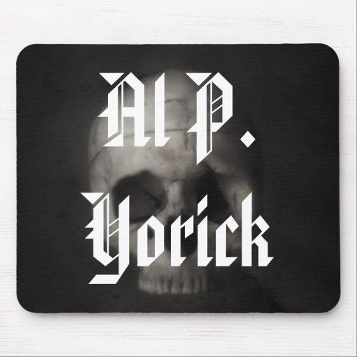 Al P. Yorick Mousepad