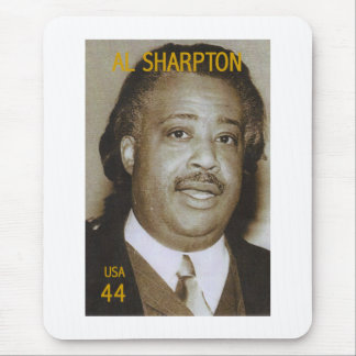 Al Sharpton stamp Mouse Mat