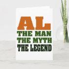 Al - the Man, the Myth, the Legend! Card