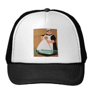Ala Menagere Vintage Food Ad Art Trucker Hats