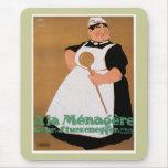Ala Menagere Vintage Food Ad Art Mouse Pad