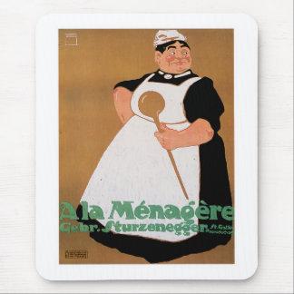 Ala Menagere Vintage Food Ad Art Mousepad