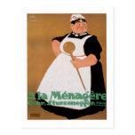 Ala Menagere Vintage Food Ad Art Post Card