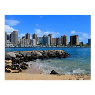 Ala Moana Beach Park Postcard