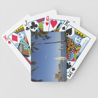 Ala Moana Beach Park, Waikiki, Honolulu 2 Bicycle Playing Cards