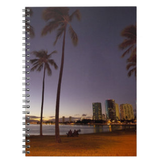 Ala Moana Beach Park, Waikiki, Honolulu Notebook
