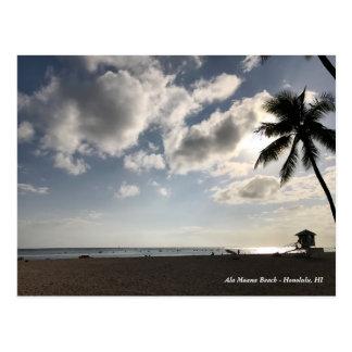 Ala Moana Beach Postcard