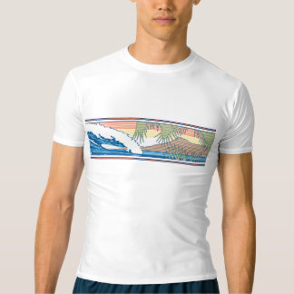 Ala Moana Hawaiian Rash Guard T-Shirt